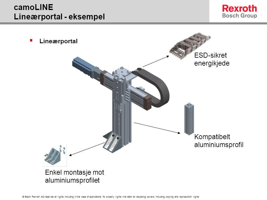 camoLINE Lineærportal - eksempel