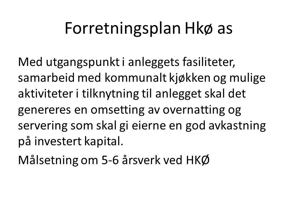 Forretningsplan Hkø as