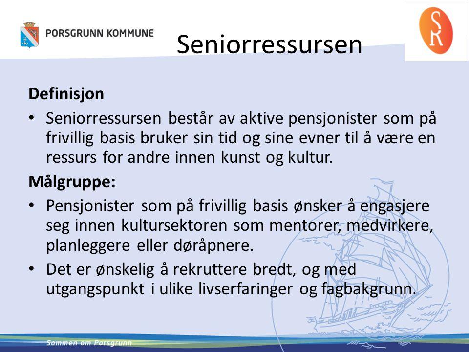 Seniorressursen Definisjon