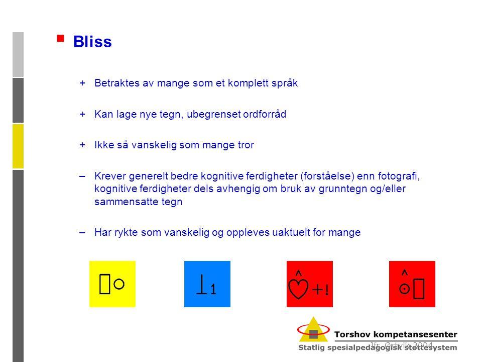 Bliss Betraktes av mange som et komplett språk