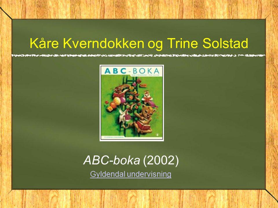 Kåre Kverndokken og Trine Solstad