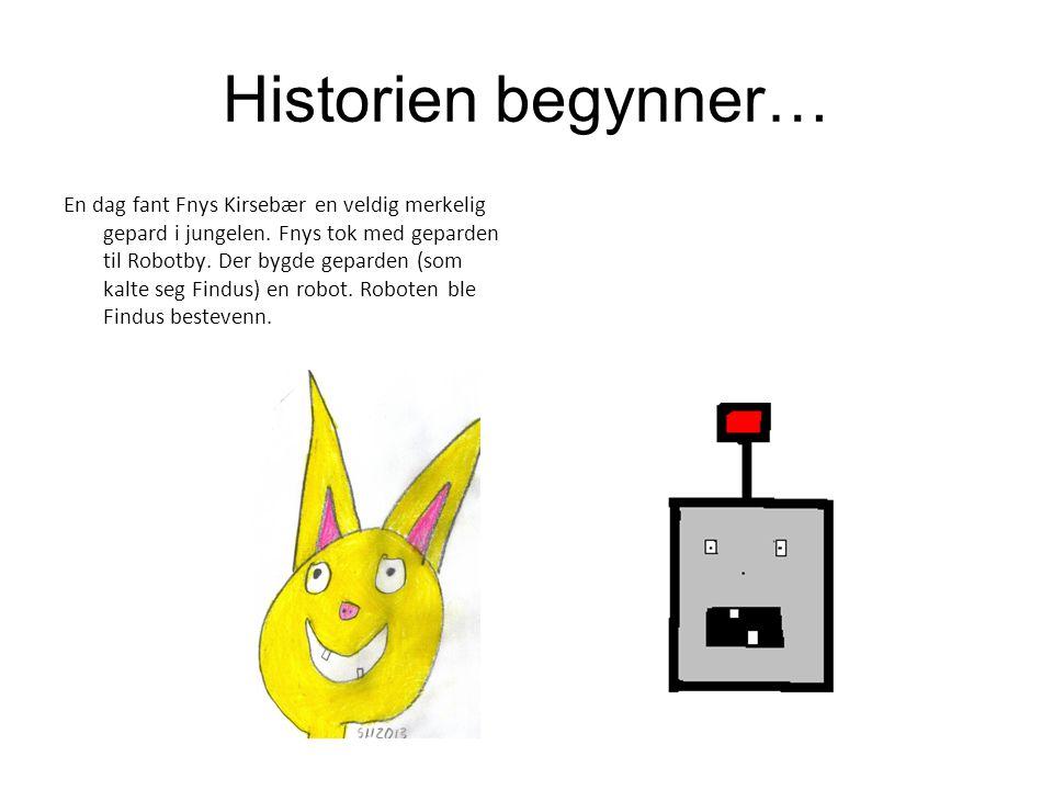 Historien begynner…