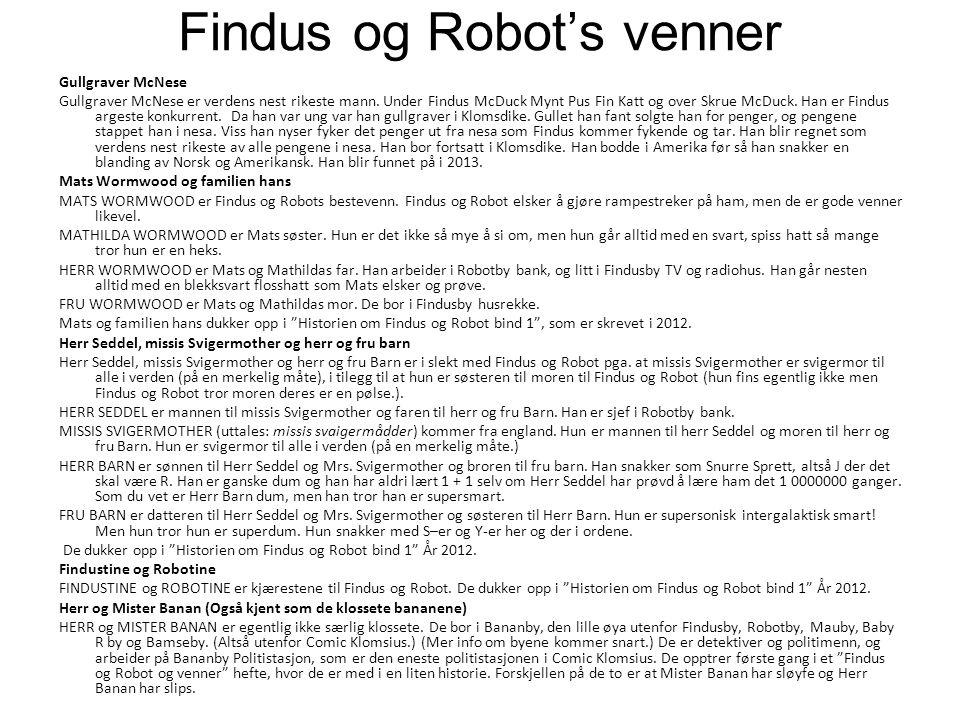 Findus og Robot's venner