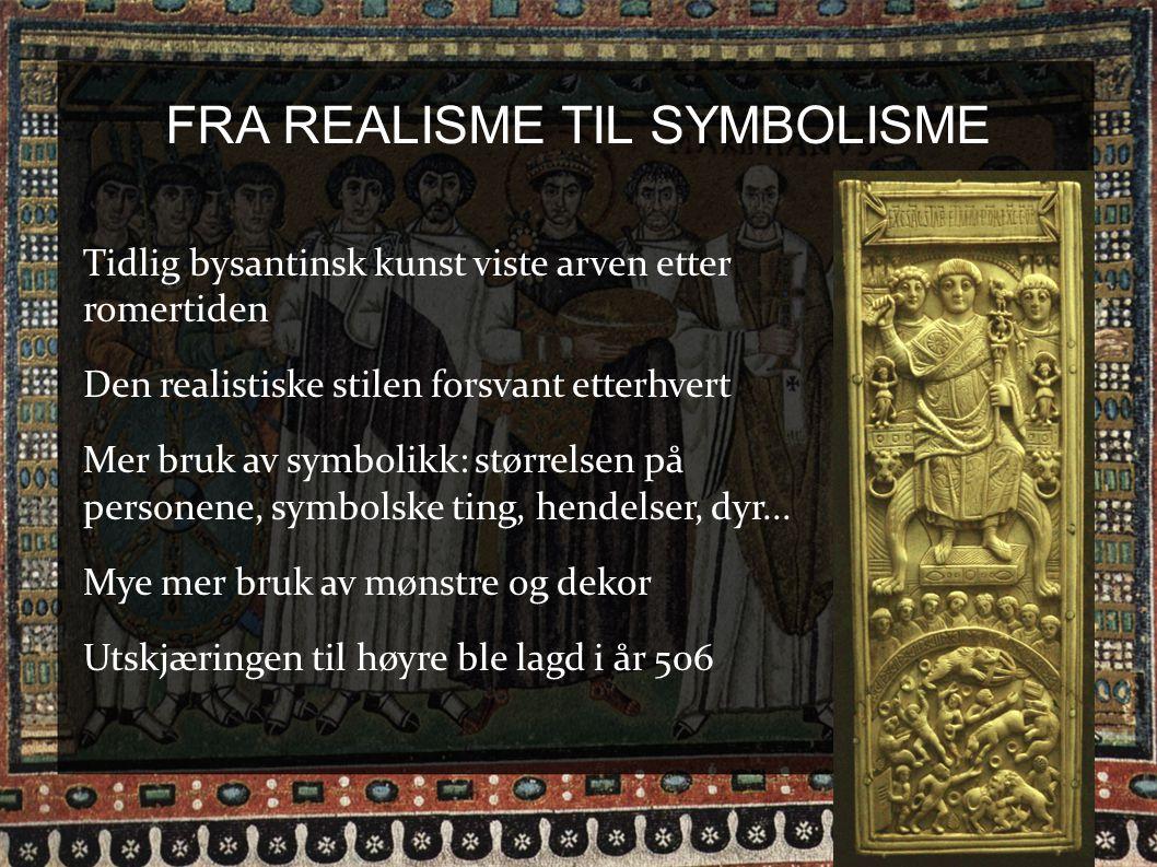 FRA REALISME TIL SYMBOLISME
