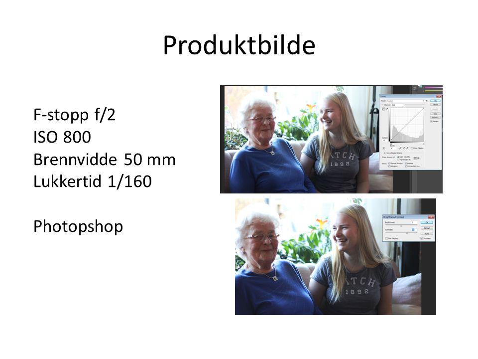 Produktbilde F-stopp f/2 ISO 800 Brennvidde 50 mm Lukkertid 1/160