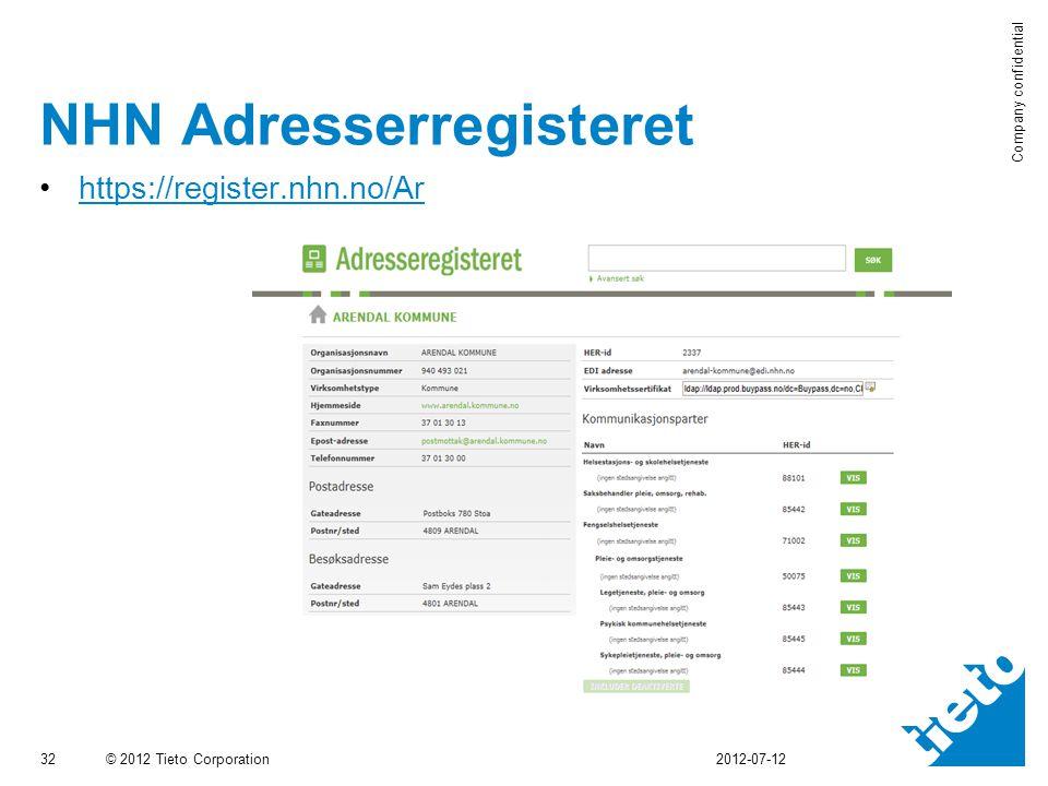 NHN Adresserregisteret