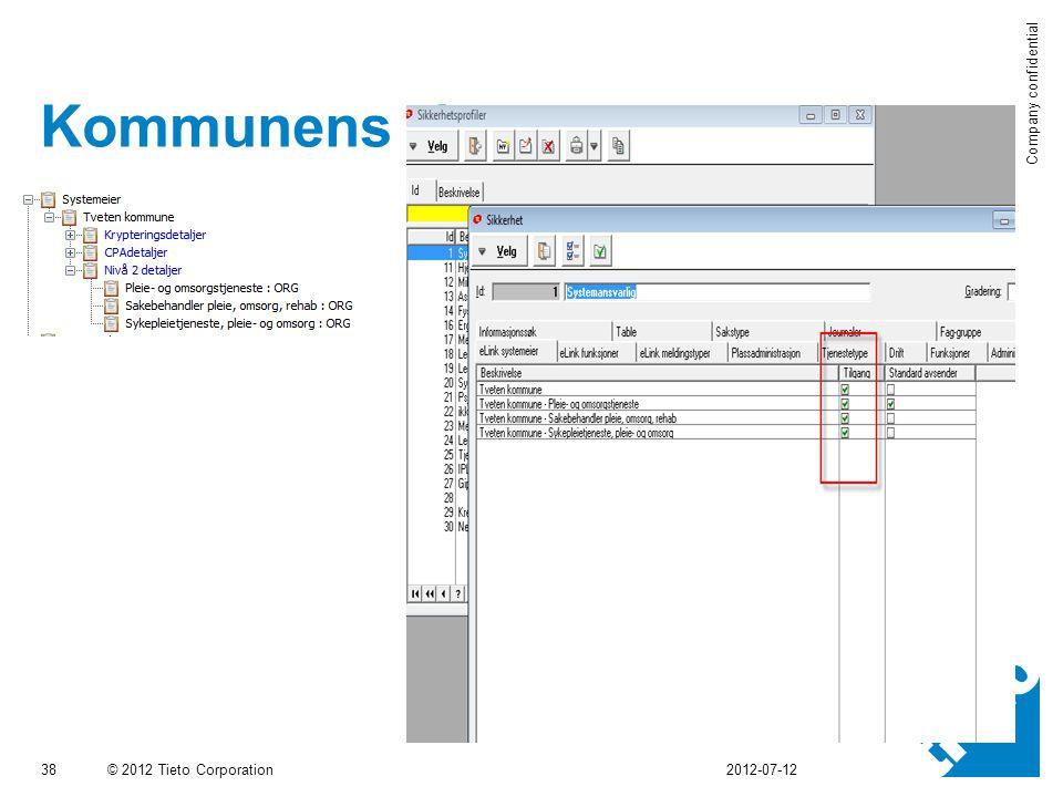 Kommunens tjenester 2012-07-12