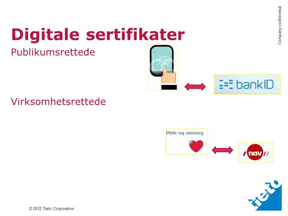 Digitale sertifikater