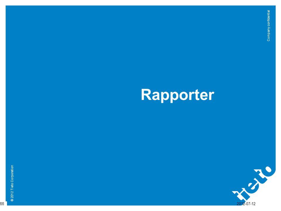 Rapporter 2012-07-12