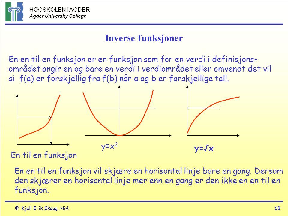 Inverse funksjoner