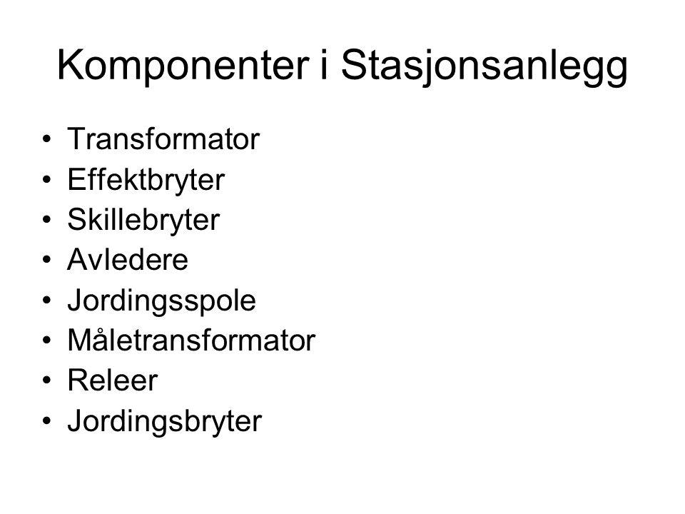 Komponenter i Stasjonsanlegg