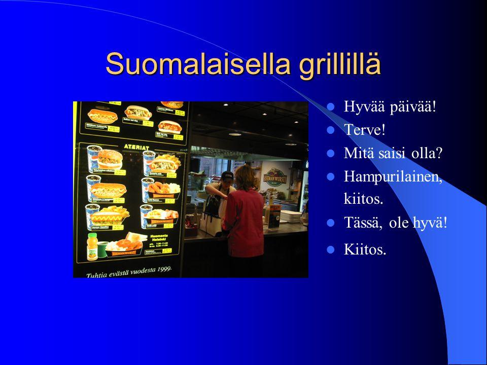 Suomalaisella grillillä