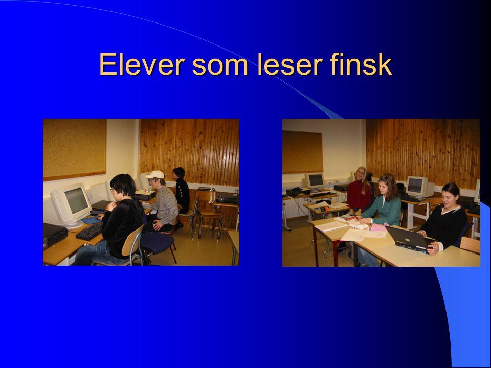 Elever som leser finsk