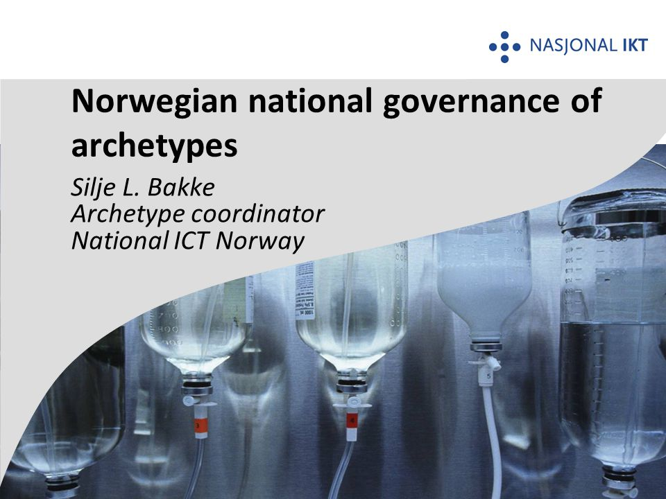 Norwegian national governance of archetypes