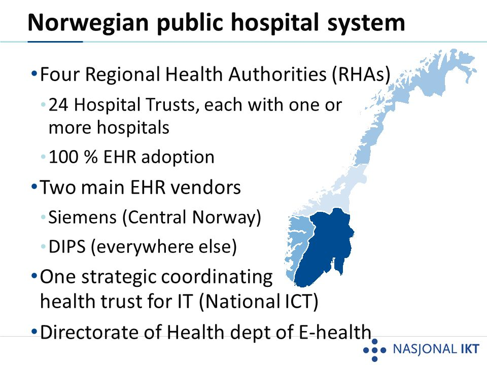 Norwegian public hospital system