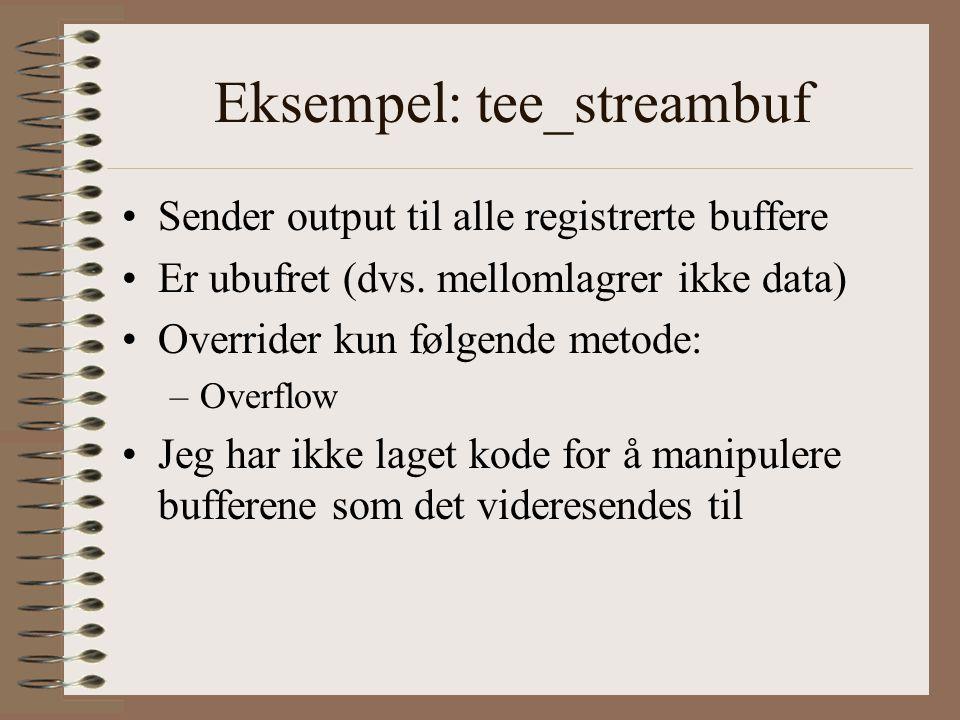 Eksempel: tee_streambuf