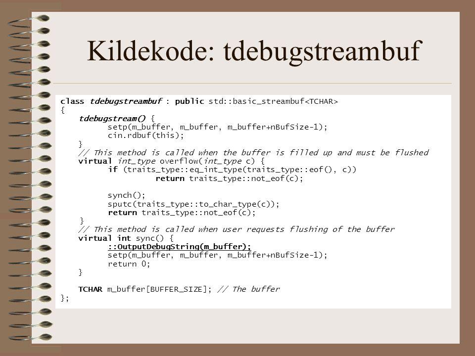 Kildekode: tdebugstreambuf