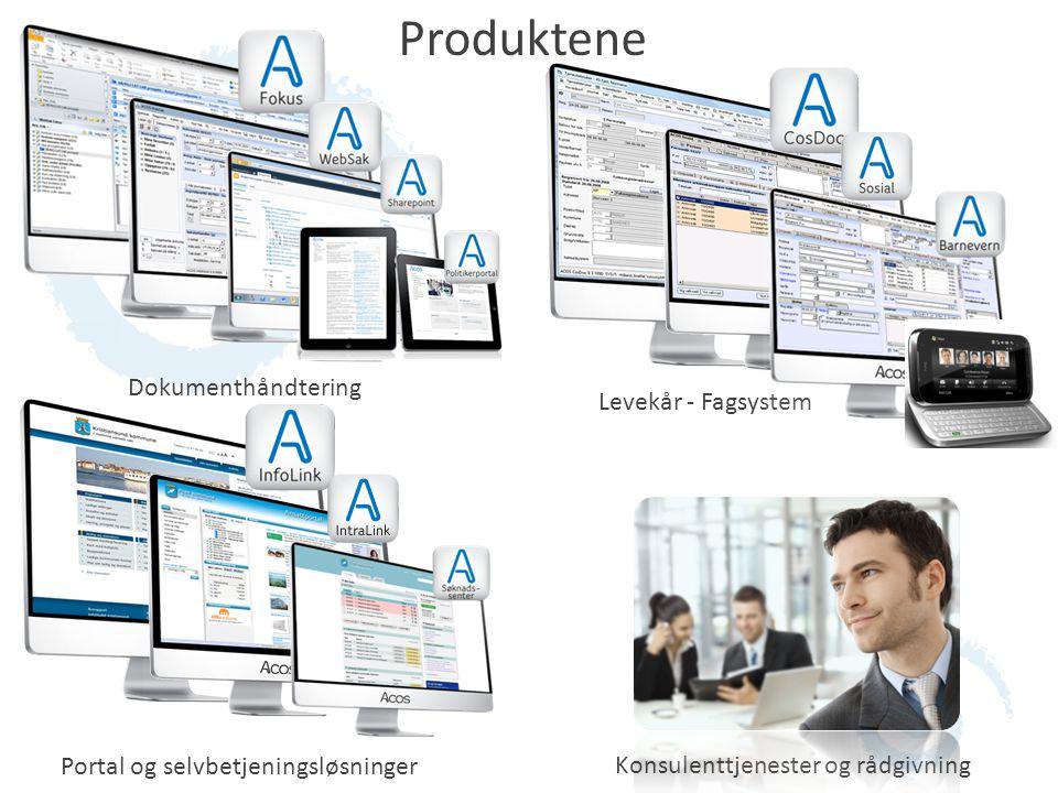 Produktene Dokumenthåndtering Levekår - Fagsystem Portal