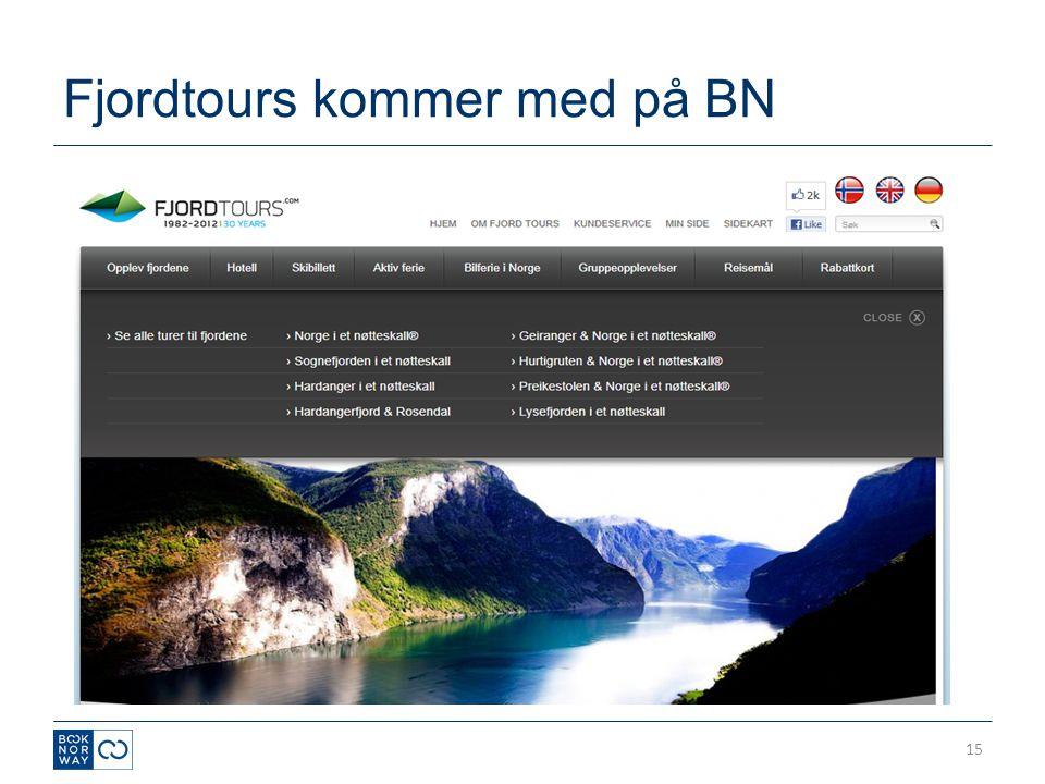 Fjordtours kommer med på BN