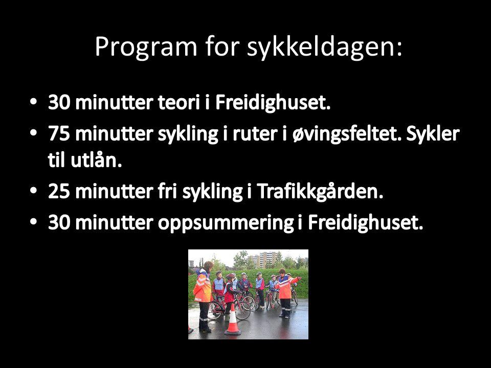 Program for sykkeldagen: