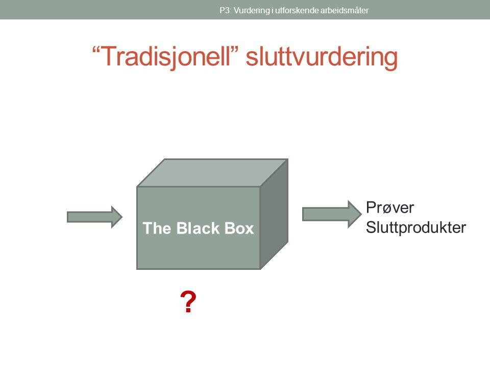 Tradisjonell sluttvurdering