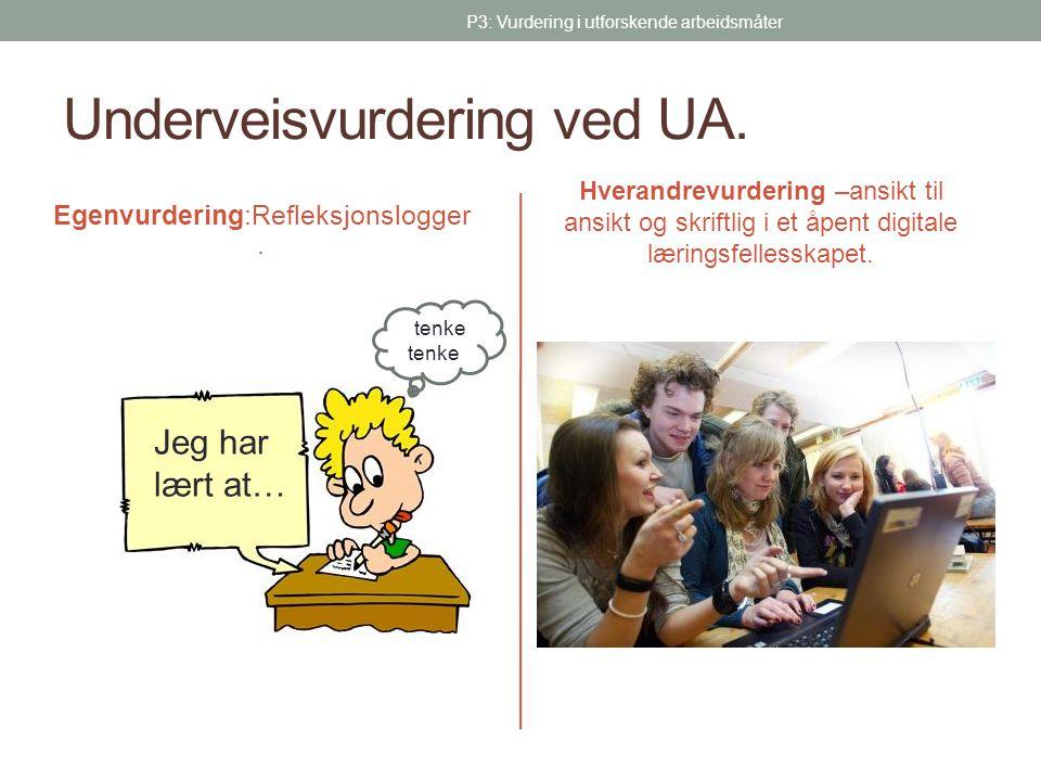 Underveisvurdering ved UA.