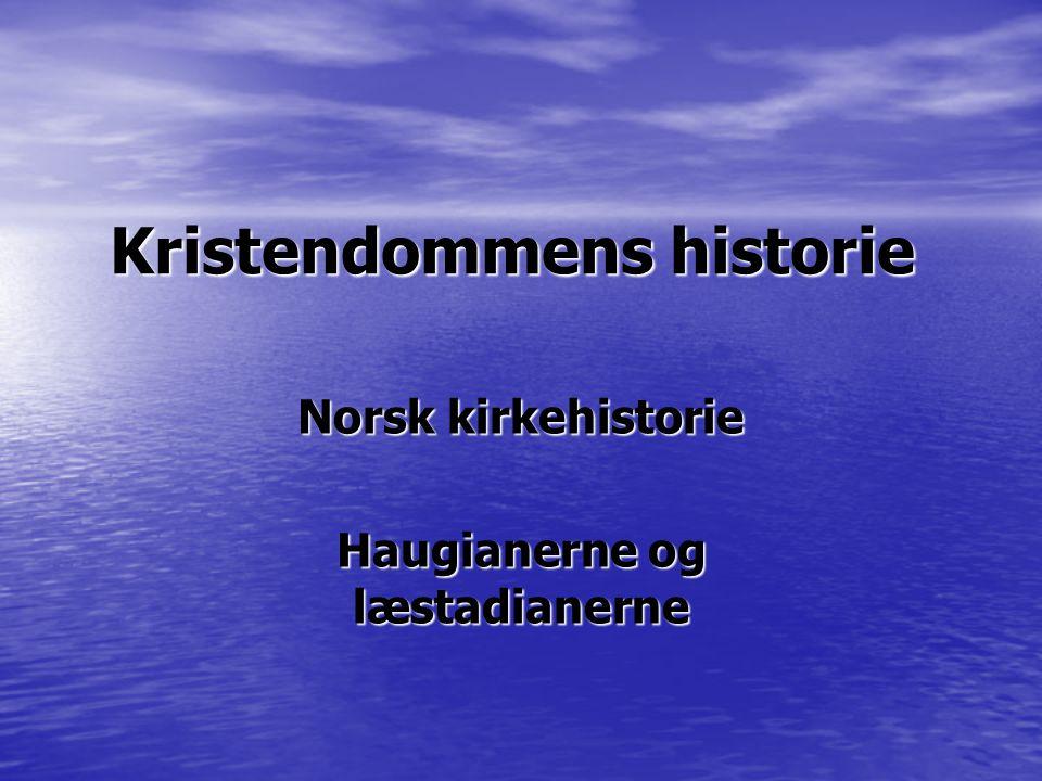 Kristendommens historie