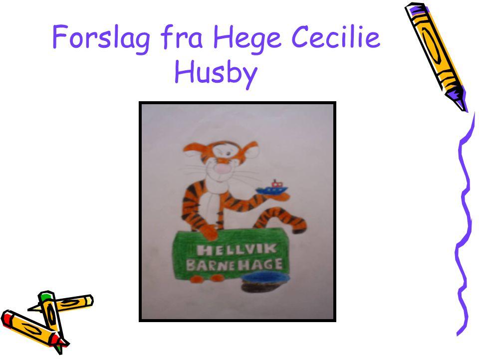 Forslag fra Hege Cecilie Husby