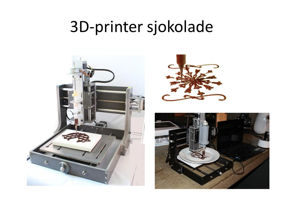 3D-printer sjokolade