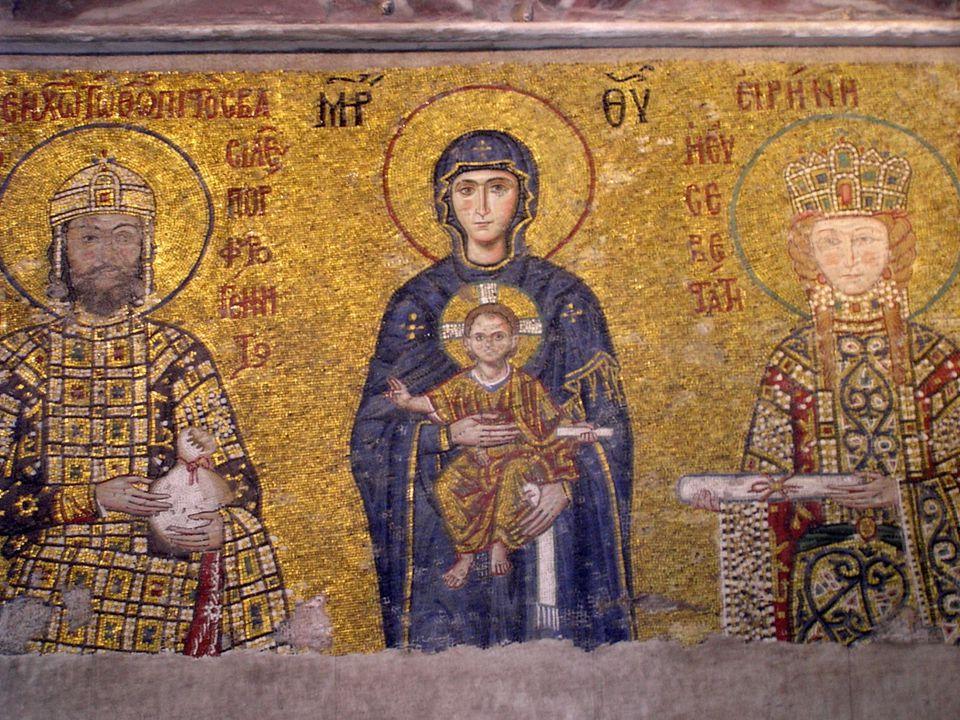 Bysants Konstantinopel ble et kulturelt sentrum med en velfungerende administrasjon og forsvar.