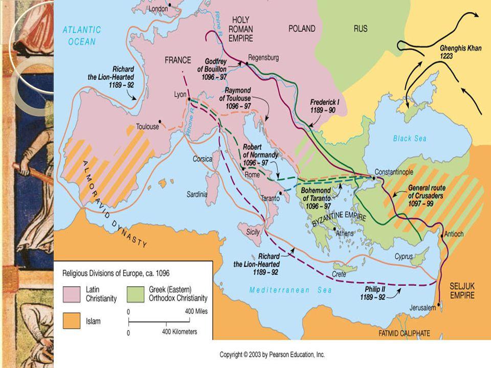 Korstogene Paven organisere og samle kristne fra hele Vest-Europa til krige mot muslimske styrker.