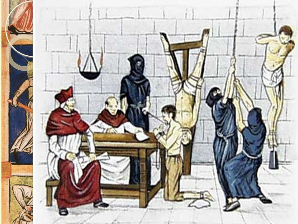 Inkvisisjonen Pavemaktens egen domstol Avgjorde hva som var rett tro