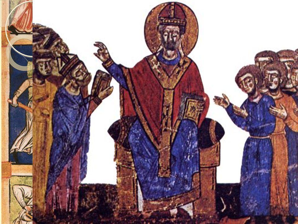 Kirkestrid På 800-tallet etablerte Pavekirken seg som en sentralmakt i Italia.