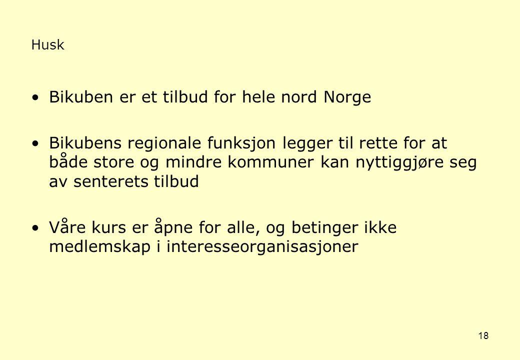 Bikuben er et tilbud for hele nord Norge