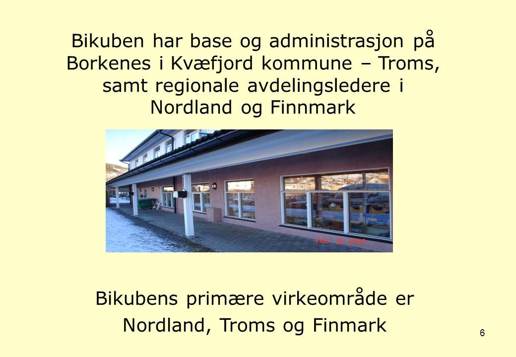 samt regionale avdelingsledere i Nordland og Finnmark