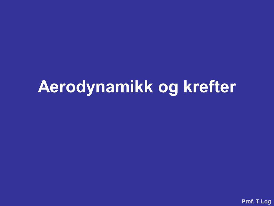Aerodynamikk og krefter