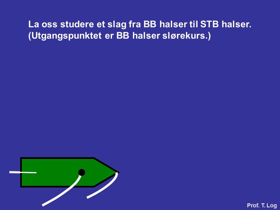 La oss studere et slag fra BB halser til STB halser.