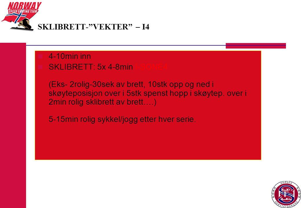 SKLIBRETT- VEKTER – I4