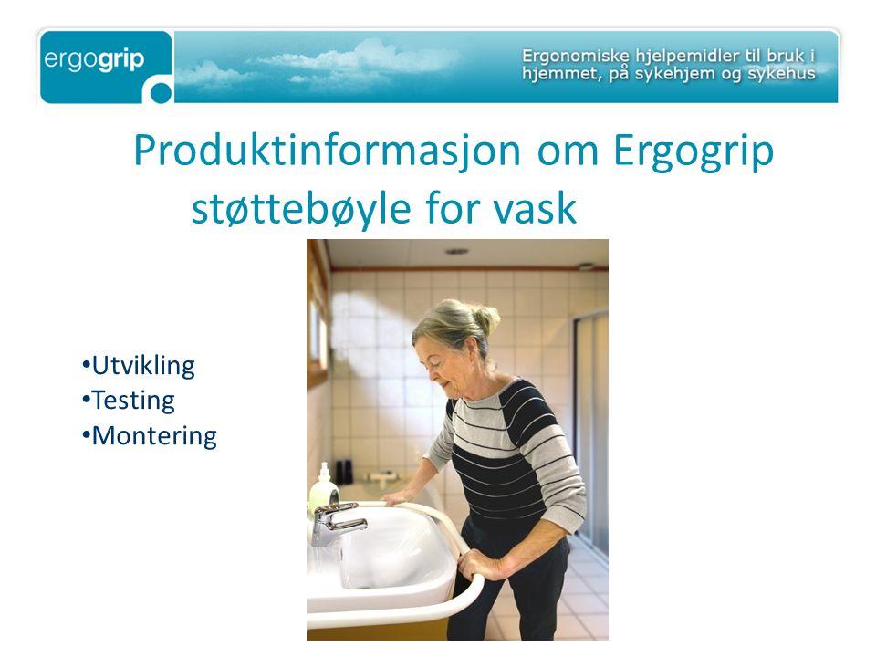 Produktinformasjon om Ergogrip