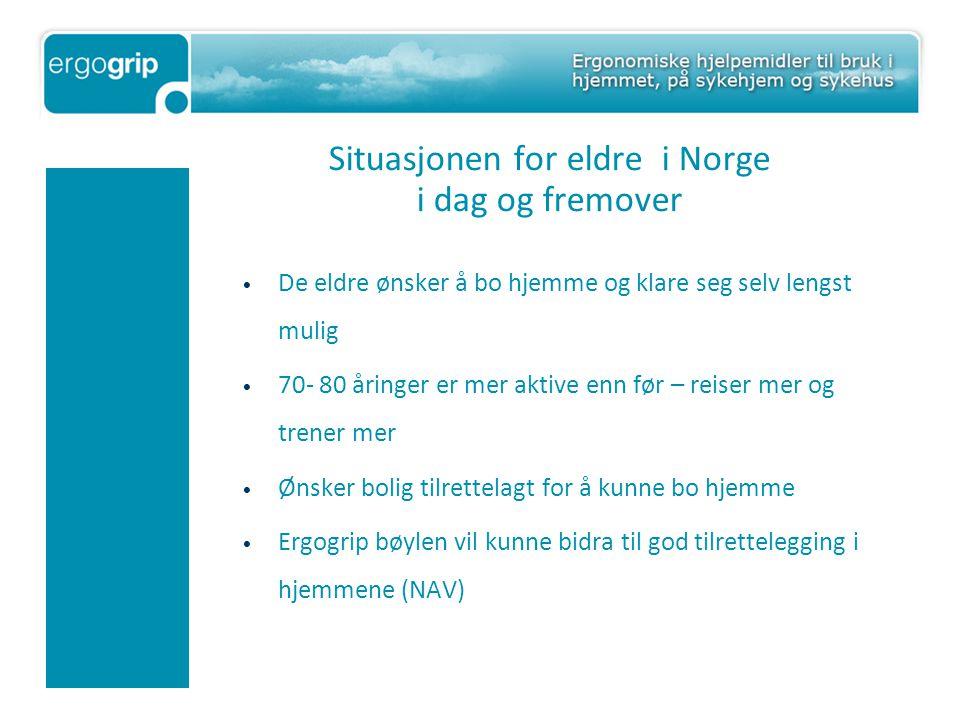 Situasjonen for eldre i Norge i dag og fremover