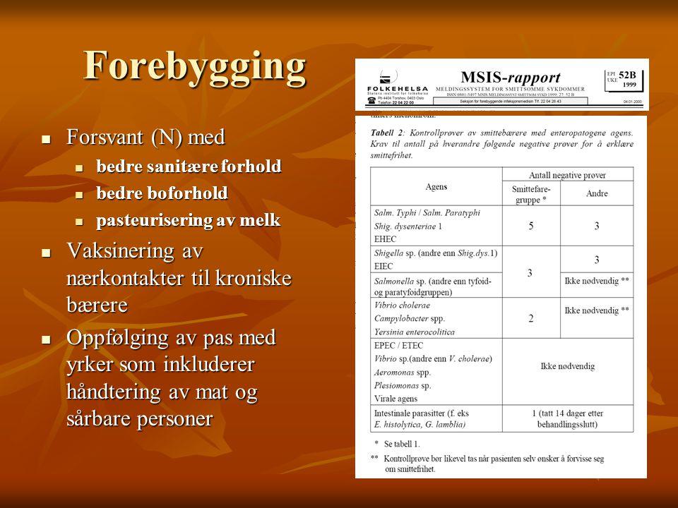 Forebygging Forsvant (N) med