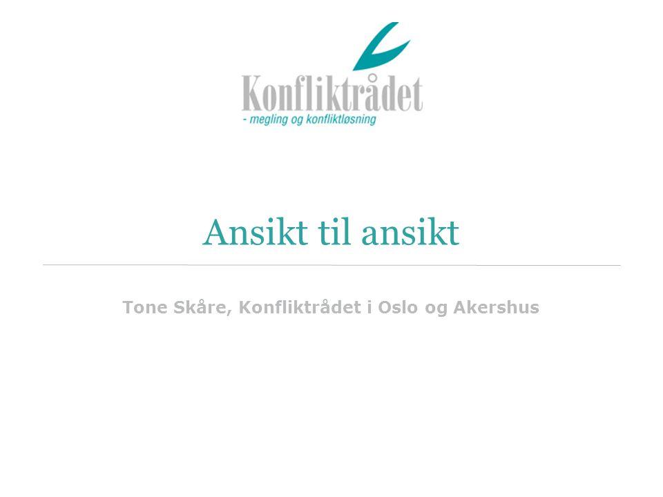 Tone Skåre, Konfliktrådet i Oslo og Akershus