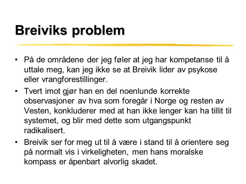 Breiviks problem