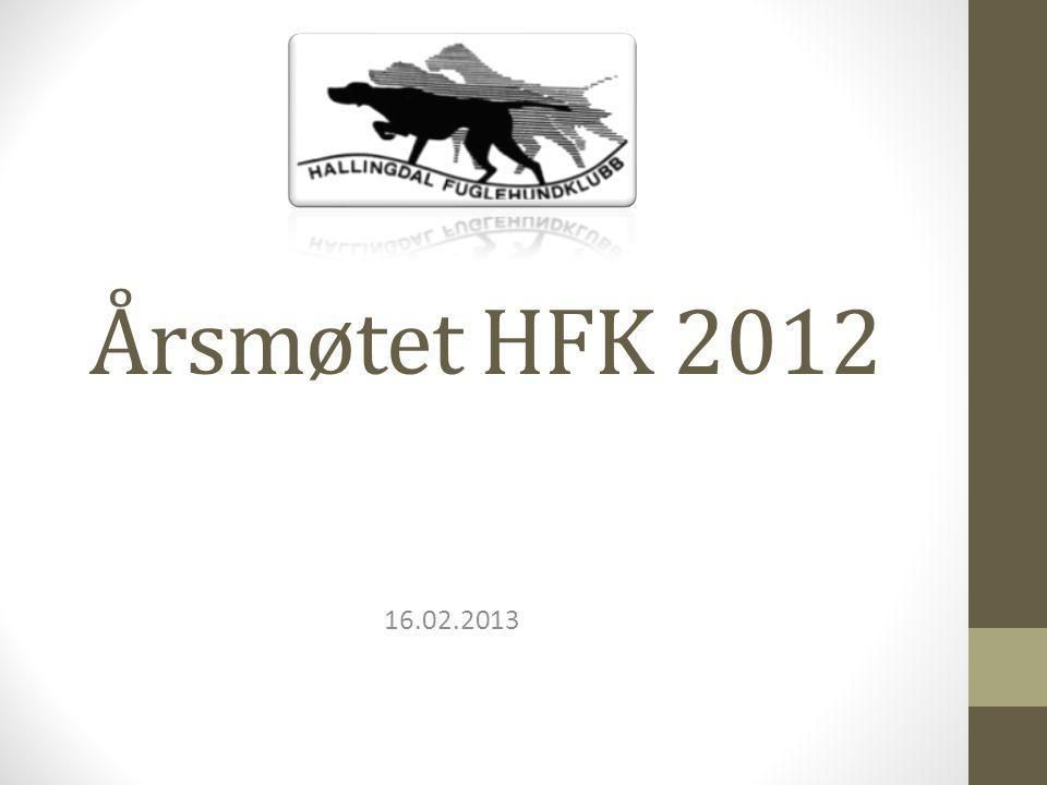 Årsmøtet HFK 2012 16.02.2013