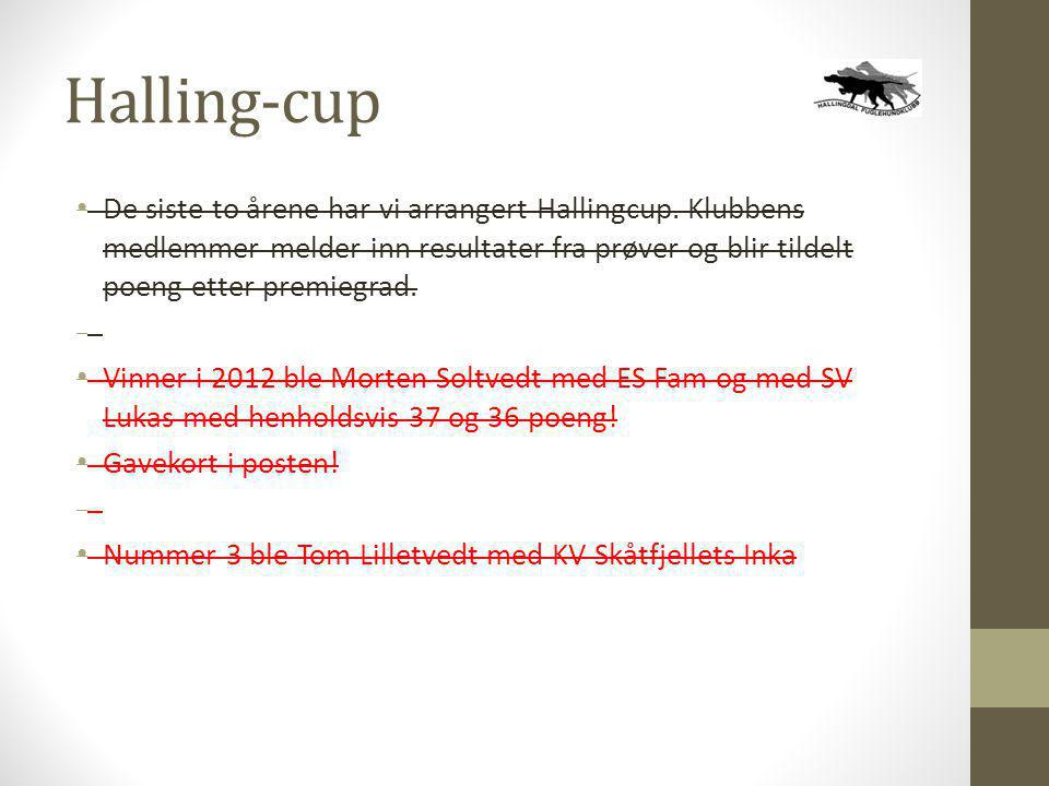 Halling-cup