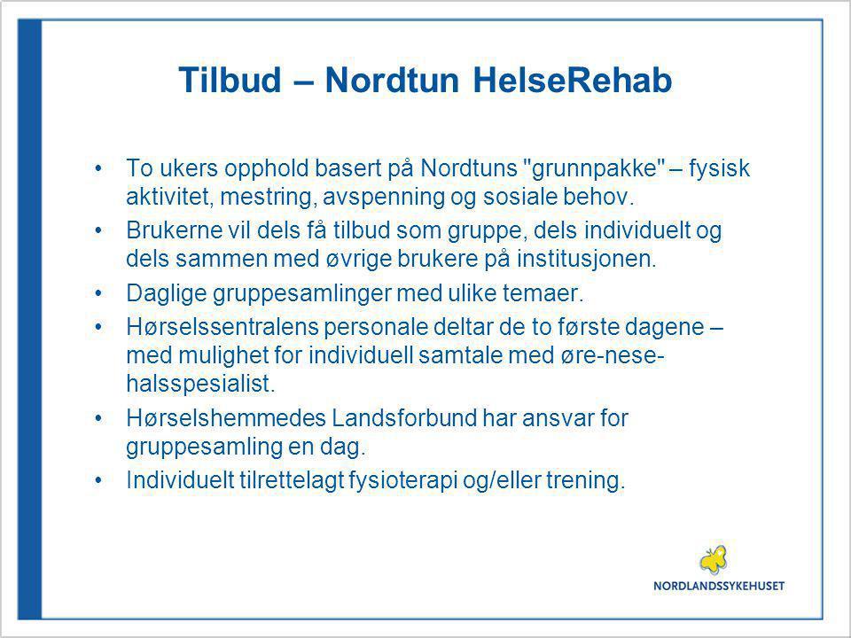 Tilbud – Nordtun HelseRehab