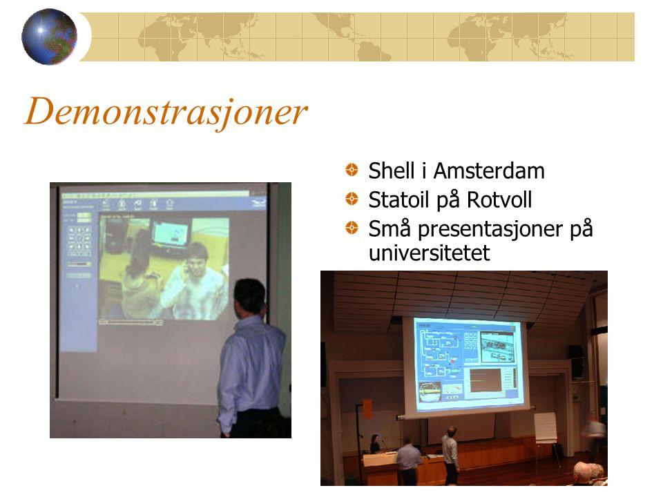 Demonstrasjoner Shell i Amsterdam Statoil på Rotvoll