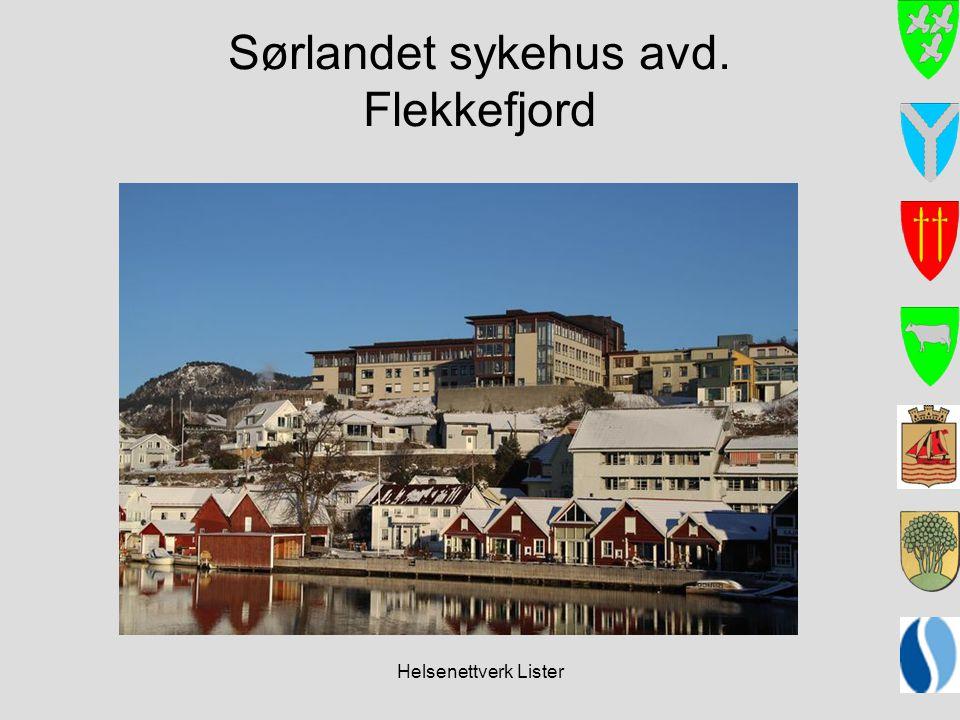 Sørlandet sykehus avd. Flekkefjord