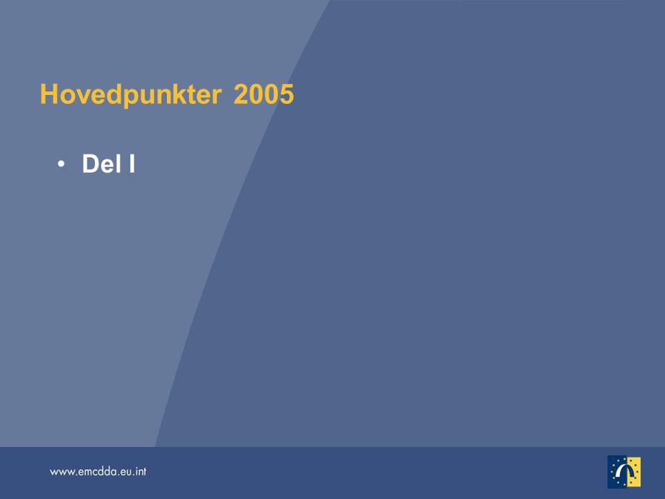 Hovedpunkter 2005 Del I.