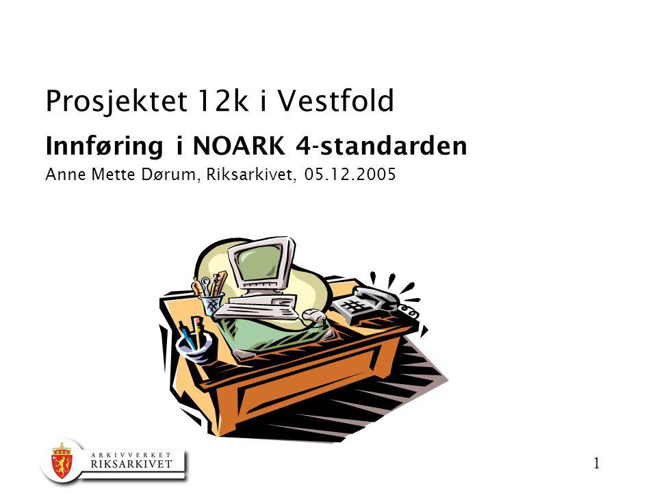 Prosjektet 12k i Vestfold